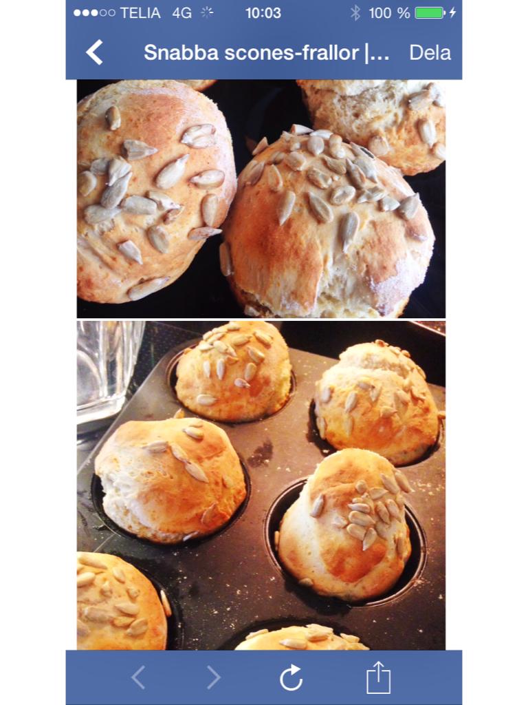 scones med sirap