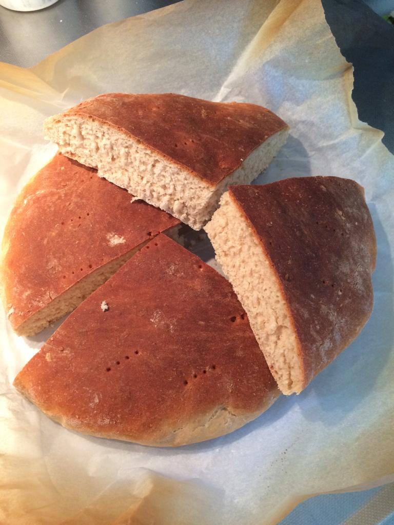 rågsiktsbröd i form