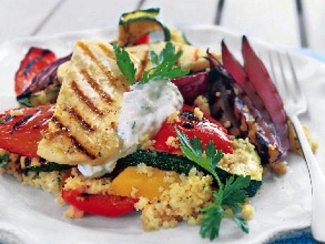 grillade grönsaker recept
